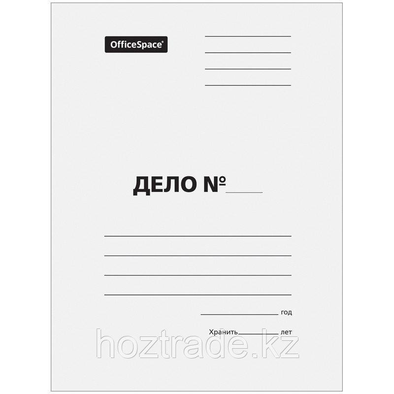 """Скоросшиватель """"Дело"""" картон, белый, мелованный, 300 г/м2"""