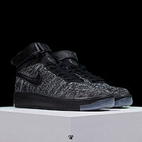 Кроссовки Nike Air Force 1 Flyknit Mid Black