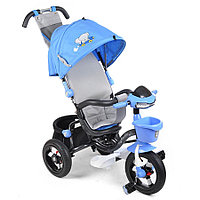 Велосипед 3-х колесный Mini Trike 960-2 (12/10) ANIMALS SPORT collection, Слоник синий
