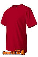Футболка красная с коротким рукавом, фото 1