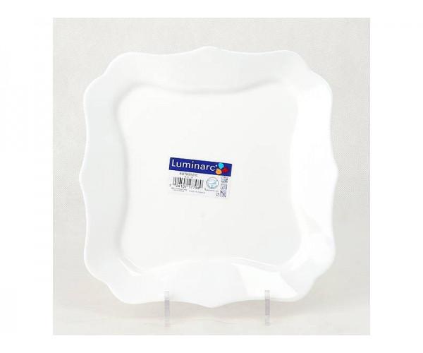 Тарелка обеденная Luminarc Authentic White 26 см