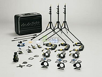 Dedolight KA24SE выездной комплект света на 3 прибора DLH4 (24/150)