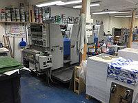 Ryobi 524 HXX б/у 2001г - четыреxкрасочная печатная машина