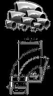 Отвод кованный стальной  ст.20 ГОСТ 17375-2001