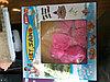 Кинетический песок (розовый, с формочками)