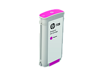 HP F9J66A Маджента картридж  728 130-ml Magenta Ink Crtg, for DesignJet T730, T830 MFP