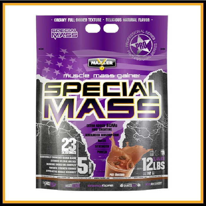 MXL Special Mass Gainer 5,5кг (Клубника)