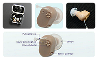 Микро усилитель звука Micro Ear (слуховой аппарат), фото 1
