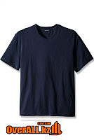 Синяя футболка с V-образным вырезом, фото 1