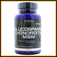 Ultimate Nutrition Glucosamine-Chondroitin & MSM (90таб)