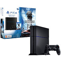 ИГРОВАЯ КОНСОЛЬ SONY PLAYSTATION 4 (1TB) + ИГРА STAR WARS BATTLEFRONT