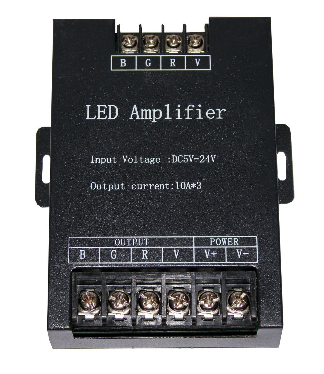 Усилитель RGB сигнала (репитер) 360W(30A), 12V