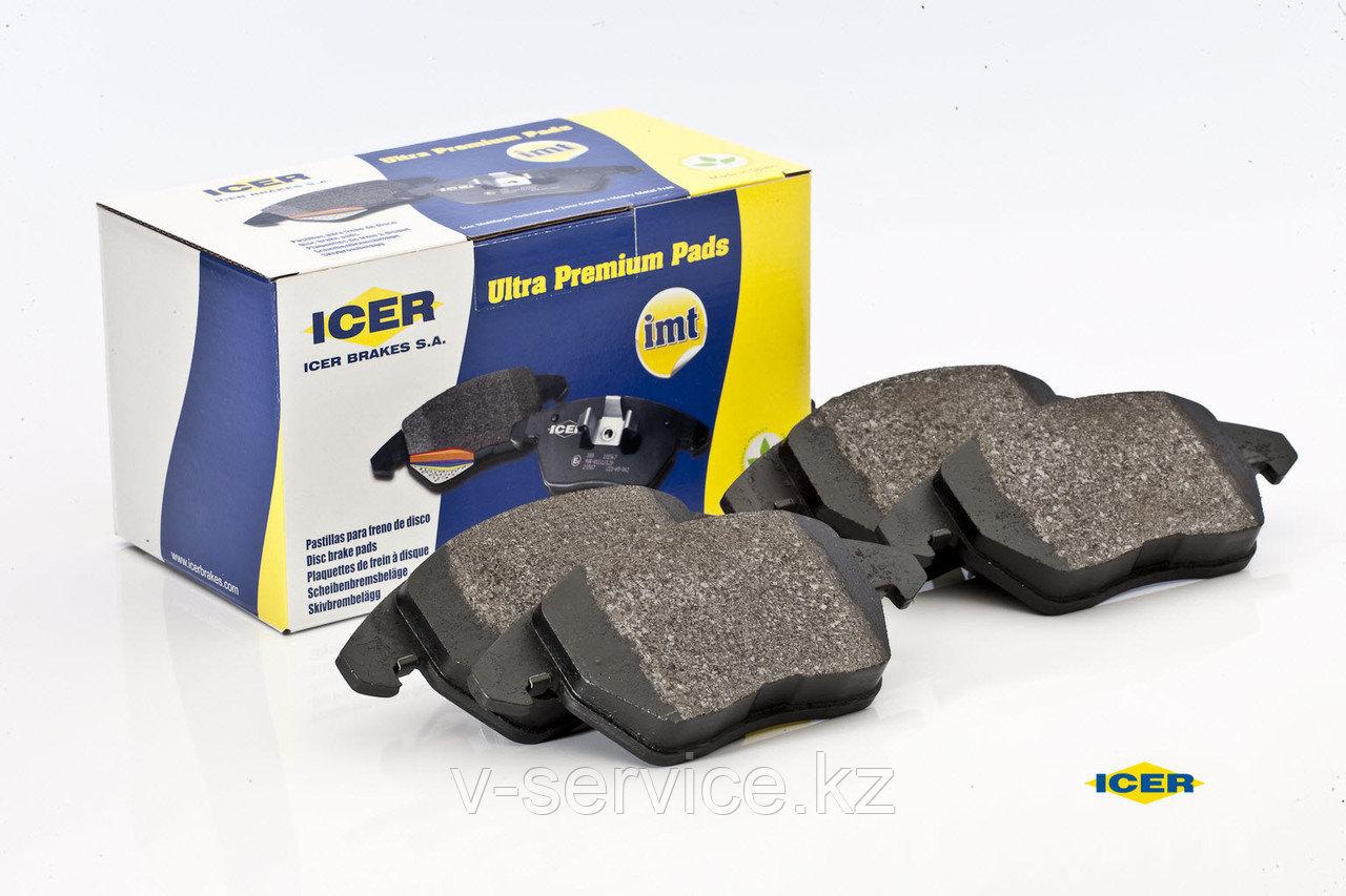 Тормозные колодки ICER 181512(REMSA 807.02)