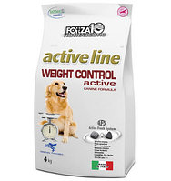 Forza10 Active line Weight Control для собак (рыба), 4 кг