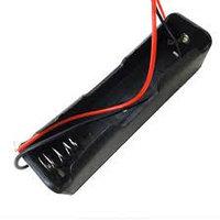 Батарейный отсек держатель 1шт аккумулятора 18650/17650 Li-ion,  открытый