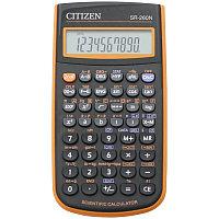 Калькулятор научный SR-260NOR 10+2 разрядов, 165 функций, питание от батарейки, 78*150*13 мм, оранже