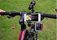 Универсальное крепление на руль 3 в 1. Смартфон+фонарь+GoPro 5/4/3+/3/SJCAM/Xiaomi, фото 1