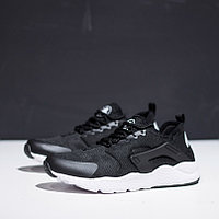 Кроссовки Nike Air Huarache Ultra Black White, фото 1