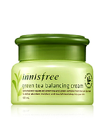 INNISFREE THE GREEN TEA BALANCING CREAM КРЕМ C АНТИОКСИДАНТАМИ