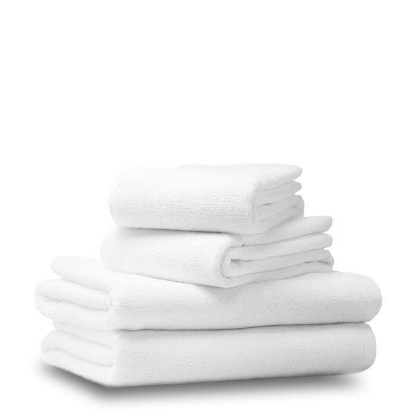 Махровое полотенце 70/140 белое, Россия ( плотность 500 г/м2)