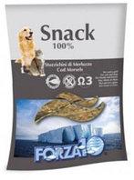 Лакомства для кошек и собак Snack 100% Stuzzichini di Merluzzo (кусочки)