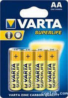 Батарейки Varta Superlife (4шт AA)