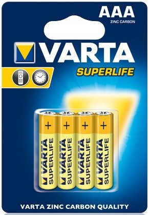 Батарейки Varta Superlife (4шт AAA)
