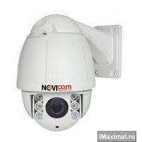 Скоростная купольная поворотная IP видеокамера NOVIcam NP118