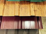 Профнастил С 8, 15 ,21 Золотой дуб 3D структурированный, фото 2