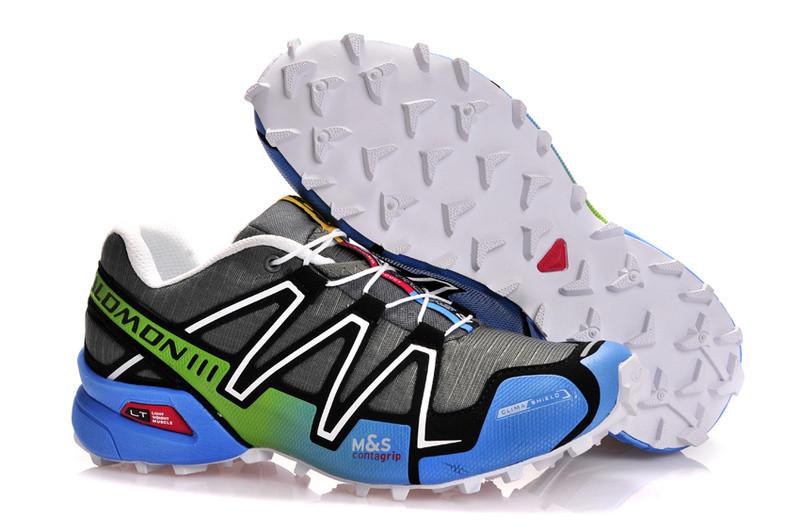 Кроссовки Salomon Speedcross серо-синие