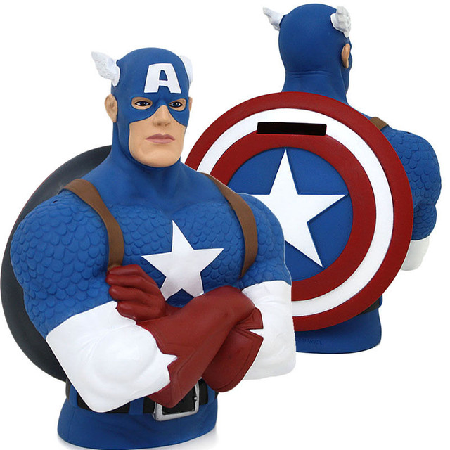 "Бюст-копилка ""Капитан Америка"" (Marvel Avengers – Captain America Bust Bank)"