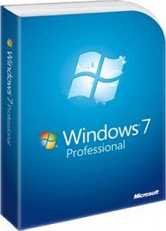 Microsoft Windows 7 Professional, 32-bit/64-bit, DVD