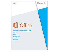 Офисное приложение, Microsoft, Office Home and Business 2013, 32/64 bit, Russian, Box