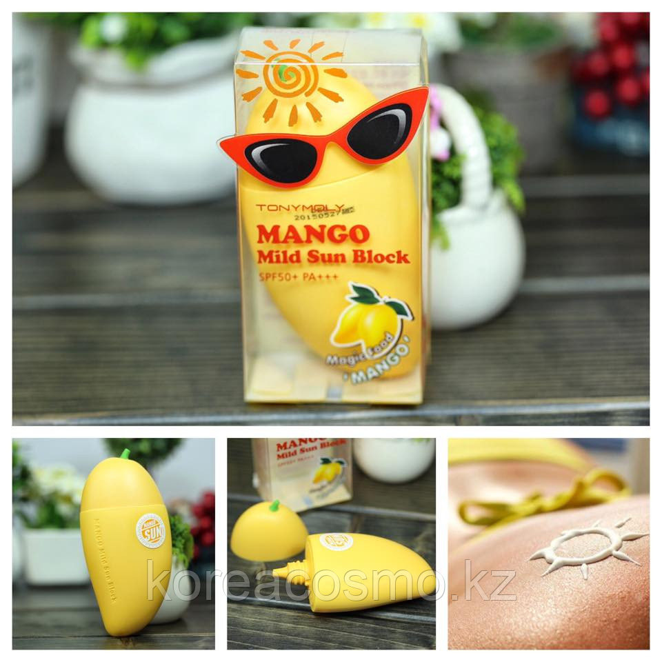 СОЛНЦЕЗАЩИТНЫЙ КРЕМ TONY MOLY MAGIC FOOD MANGO MILD SUN BLOCK