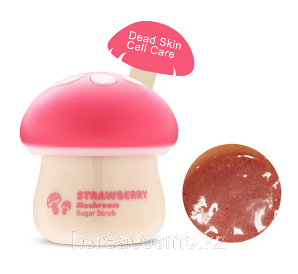 СКРАБ ДЛЯ ЛИЦА TONY MOLY MAGIC FOOD STRAWBERRY MUSHROOM SUGAR SCRUB