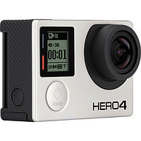 Экшн-камера GoPro Hero4 Black Edition, Silver-Black