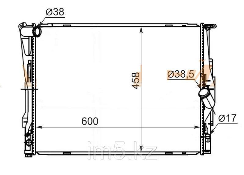 Радиатор BMW X1 E84 09-