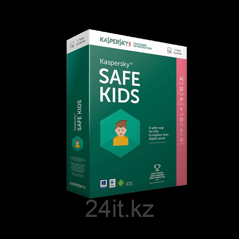 Родительский контроль Kaspersky Safe Kids, 1 ПК на 1 год