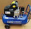 Воздушнsq компрессор EURO STANDART 100 литров
