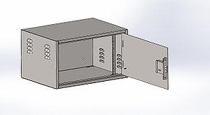 Шкаф антивандальный навесной 7U 560*400*320