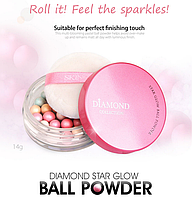 Пудра-румяна SKIN79 Diamond Collection Star Glow Ball Powder 14g