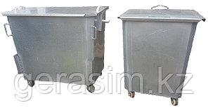 Оцинкованные нержавеющие мусорные контейнеры, баки (НДС 12% в т.ч.)
