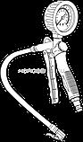 Пистолет для подкачки шин NORDBERG ECO TI5, фото 2