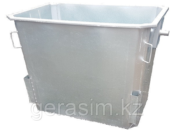 Мусорный контейнер 1,1 куб.  без крышки без колес