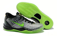 Кроссовки Nike Kobe 8 System PP Black Grey Electric Green (40-46), фото 1