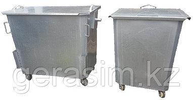 Оцинкованные нержавеющие мусорные контейнеры