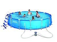 Каркасный бассейн Bestway 4,57m x 91cm (56066)