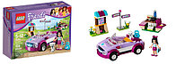 Конструктор LEGO FRIENDS «Спортивный автомобиль Эммы»