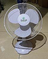 Вентилятор настольный ECOLUX RQ-1212A d=30см, 40Вт, 3 скор. режима, белый