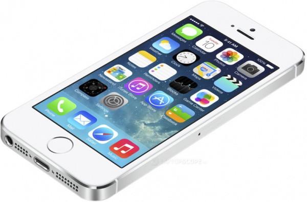 Смартфон Apple iPhone 5S 32Gb (серебристый)